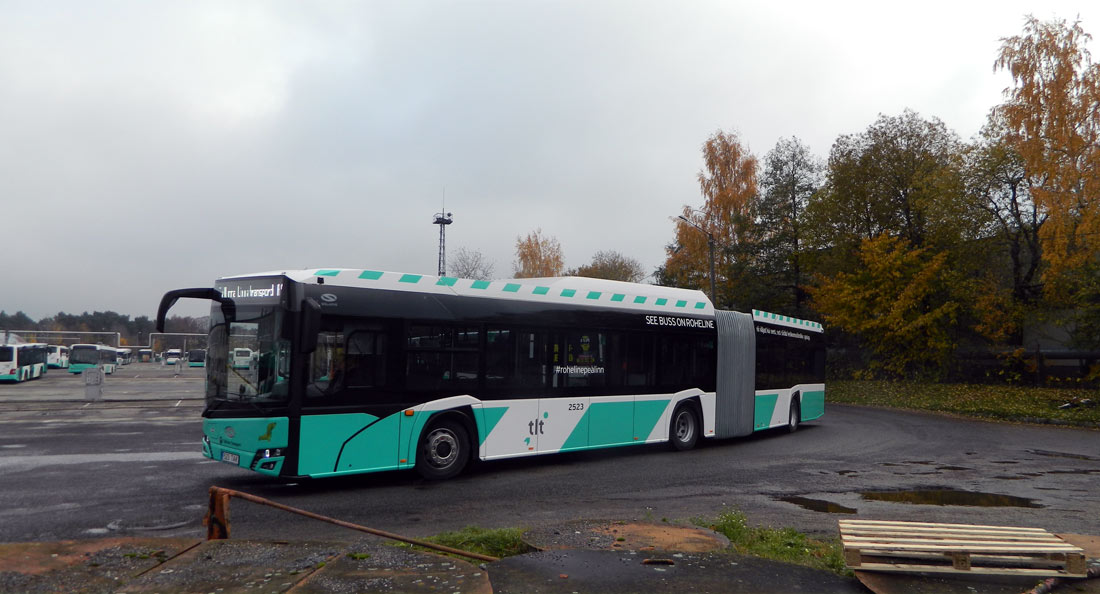 Tallinn, Solaris Urbino IV 18 CNG № 2523