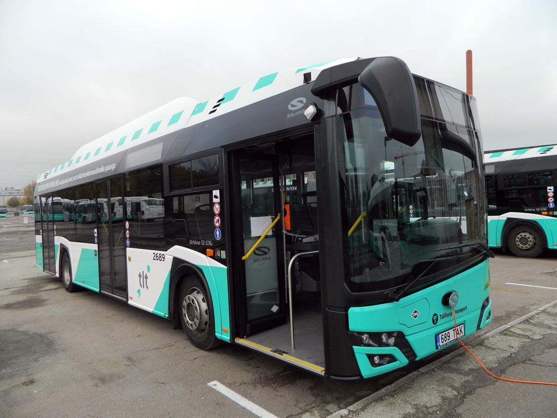 Tallinn, Solaris Urbino IV 12 CNG № 2689