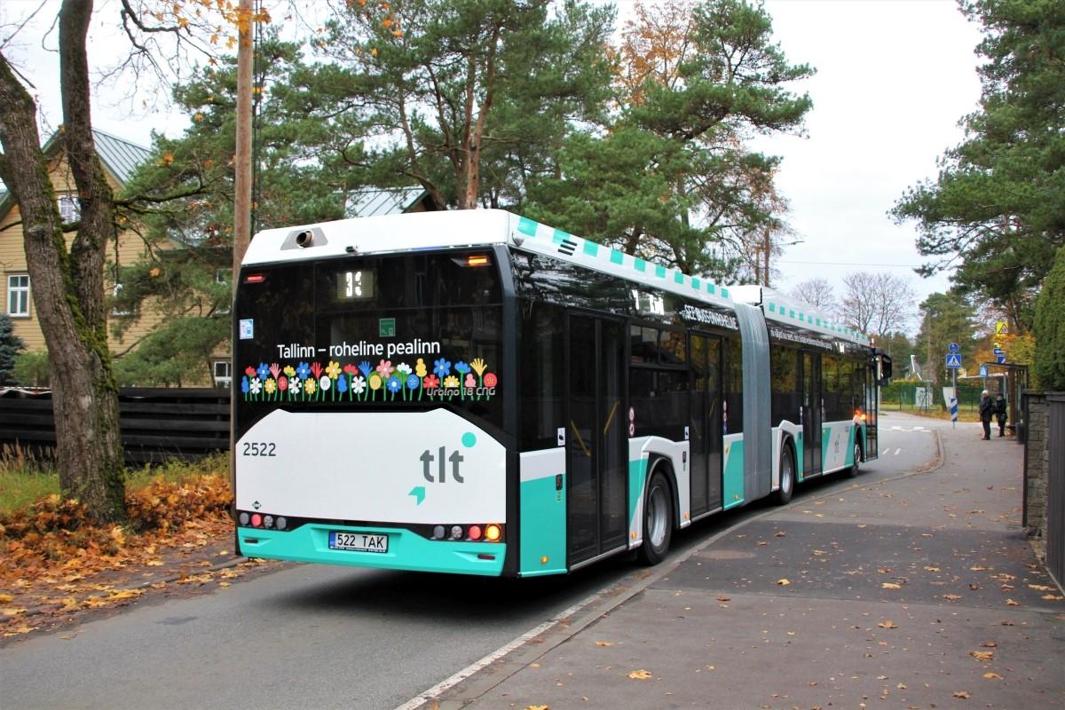 Tallinn, Solaris Urbino IV 18 CNG № 2522