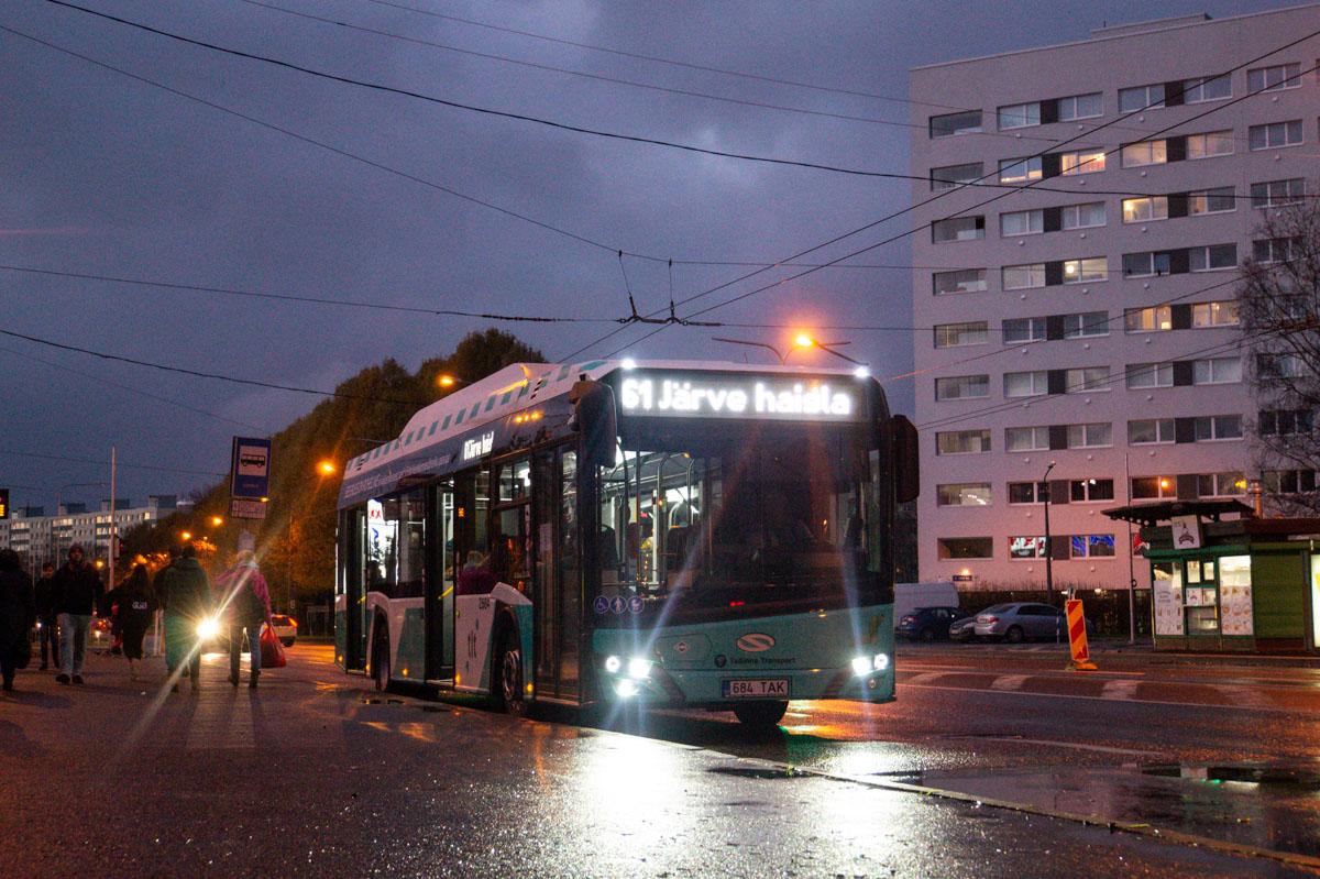 Tallinn, Solaris Urbino IV 12 CNG № 2684