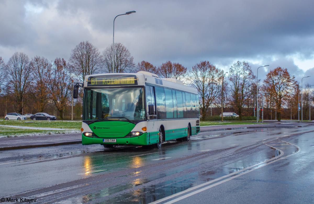 Tallinn, Scania OmniLink CL94UB № 2220