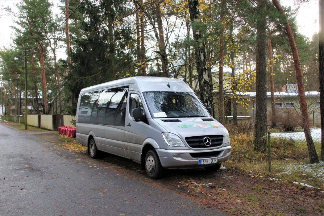 Paide, Mercedes-Benz Sprinter 519CDI № 539 BJZ