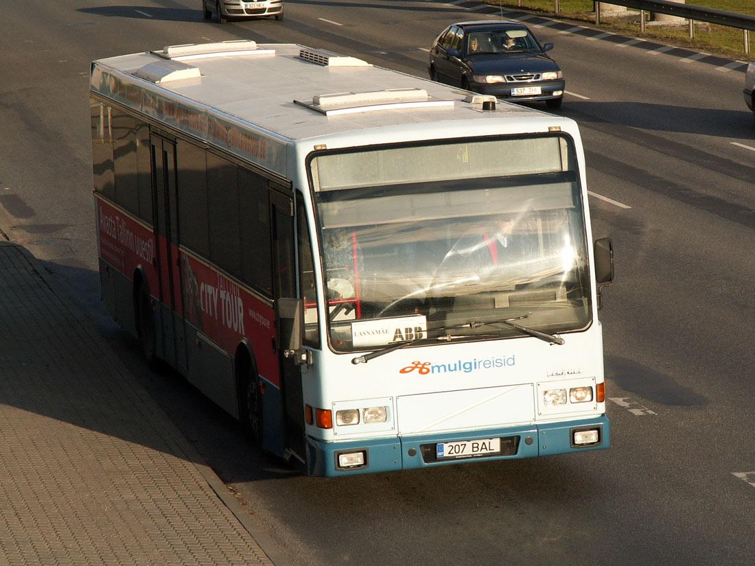 Tallinn, Berkhof Europa 2000NL № 207 BAL