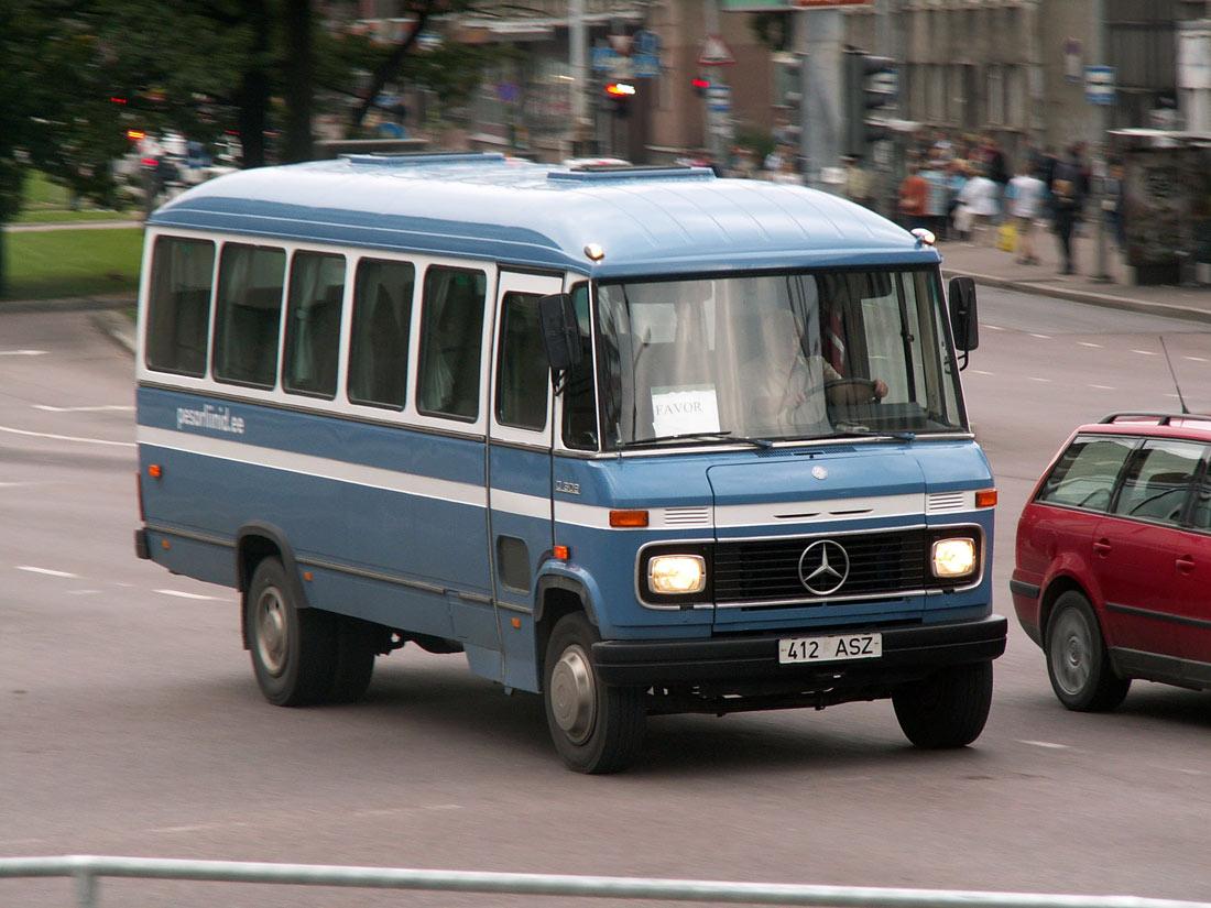 Tallinn, Mercedes-Benz O309D № 412 ASZ