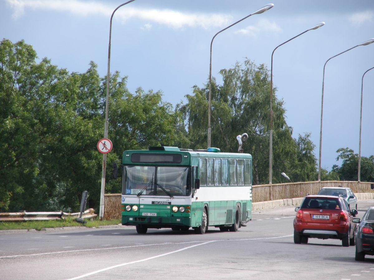 Kohtla-Järve, Scania CN113CLB № 149 TAK