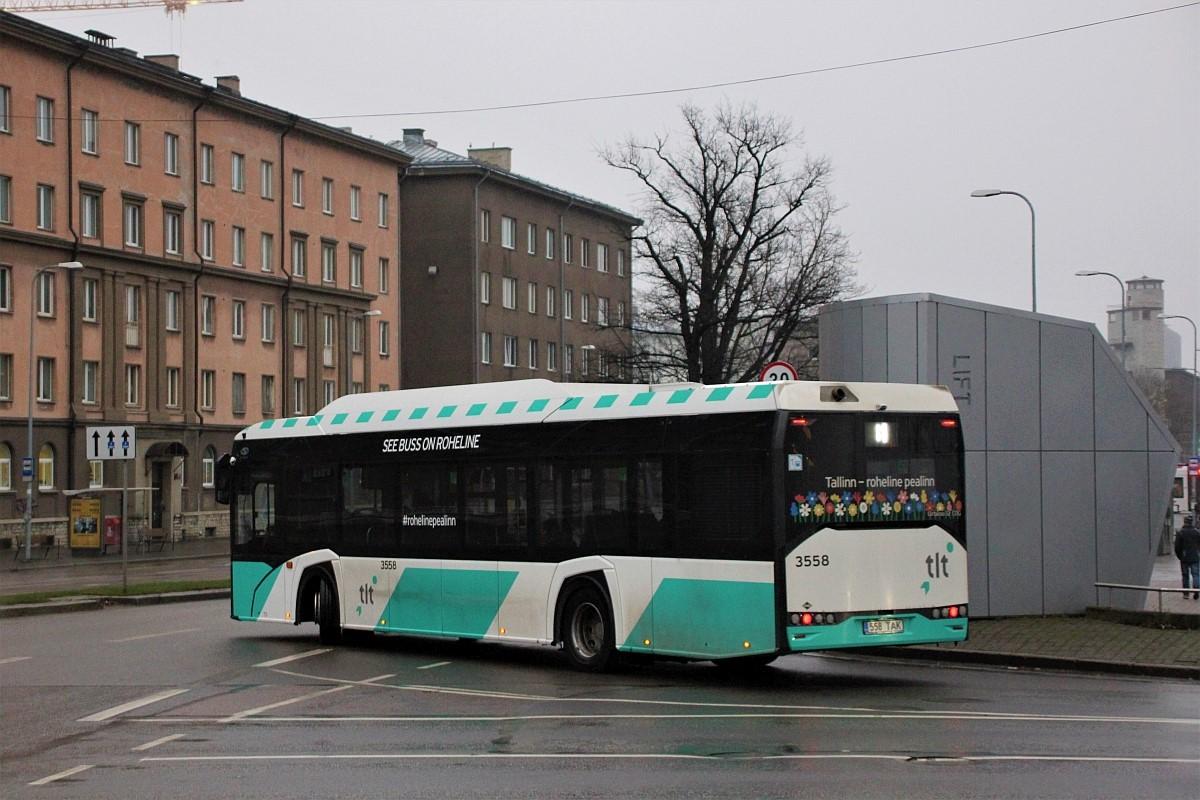Tallinn, Solaris Urbino IV 12 CNG № 3558