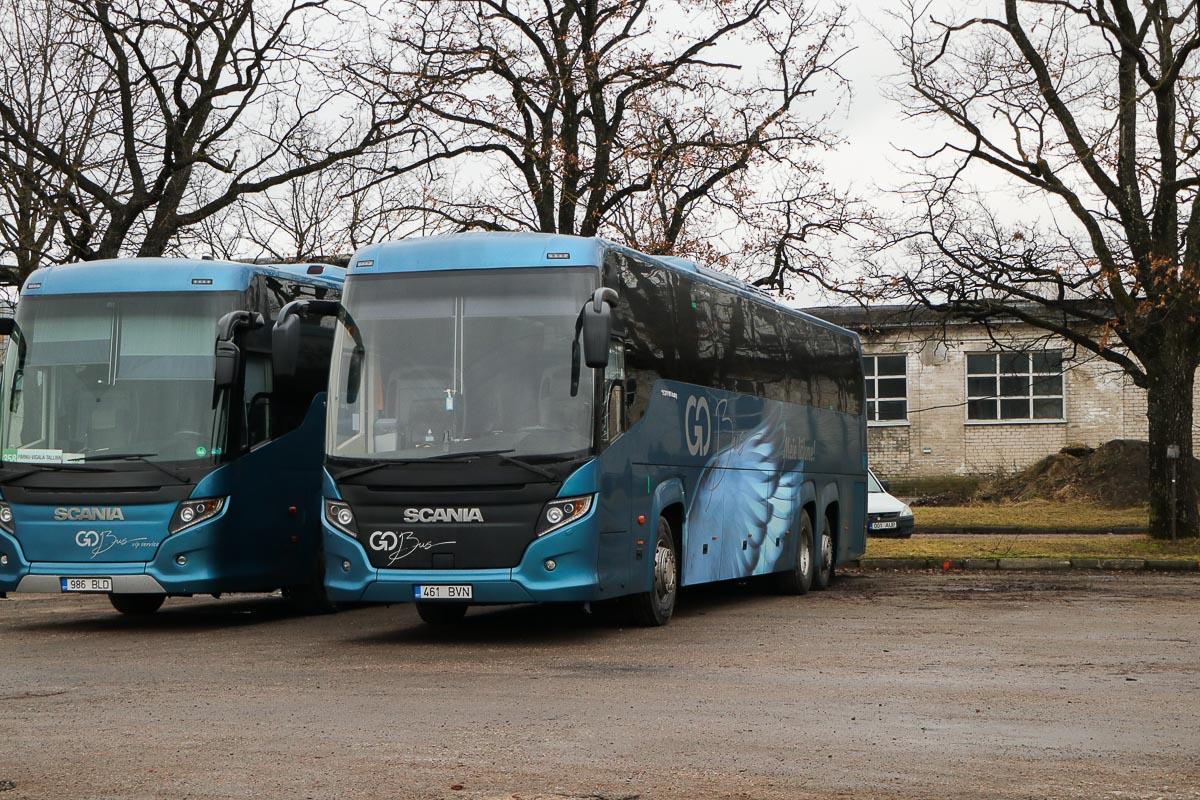 Tallinn, Scania Touring HD (Higer A80T) № 461 BVN