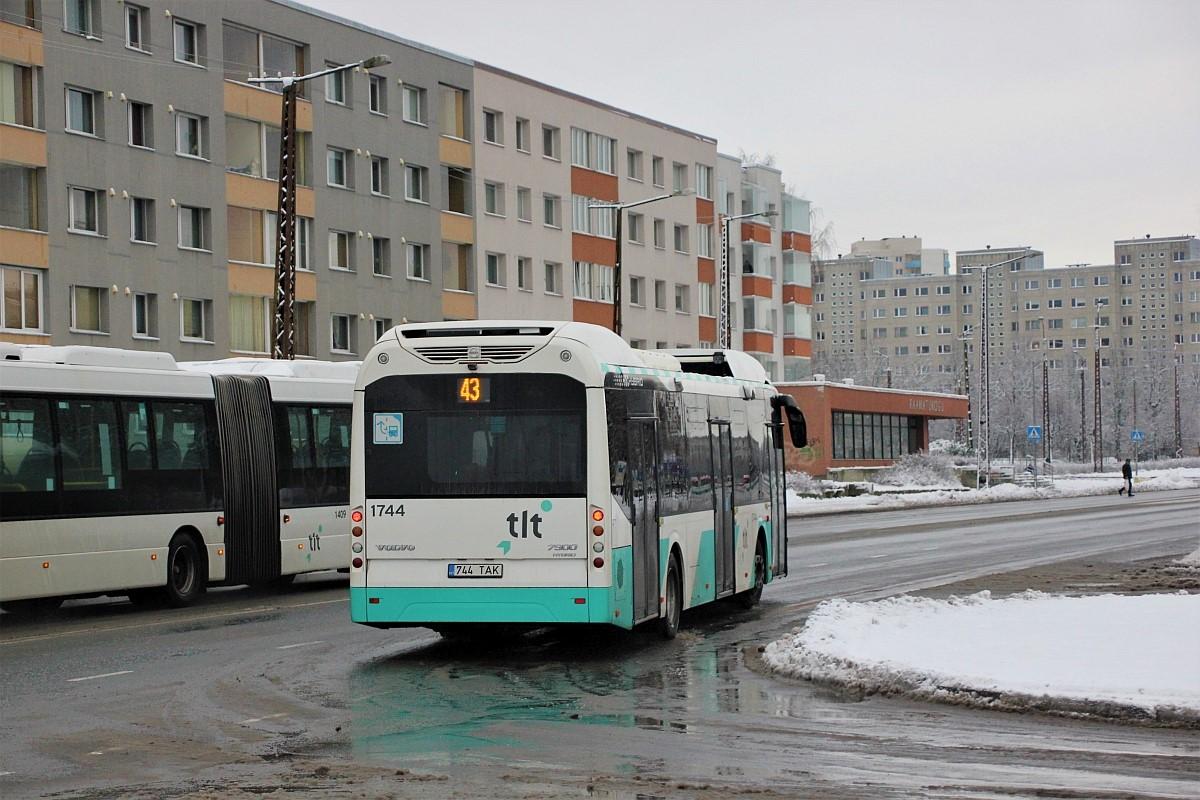 Tallinn, Volvo 7900 Hybrid № 1744