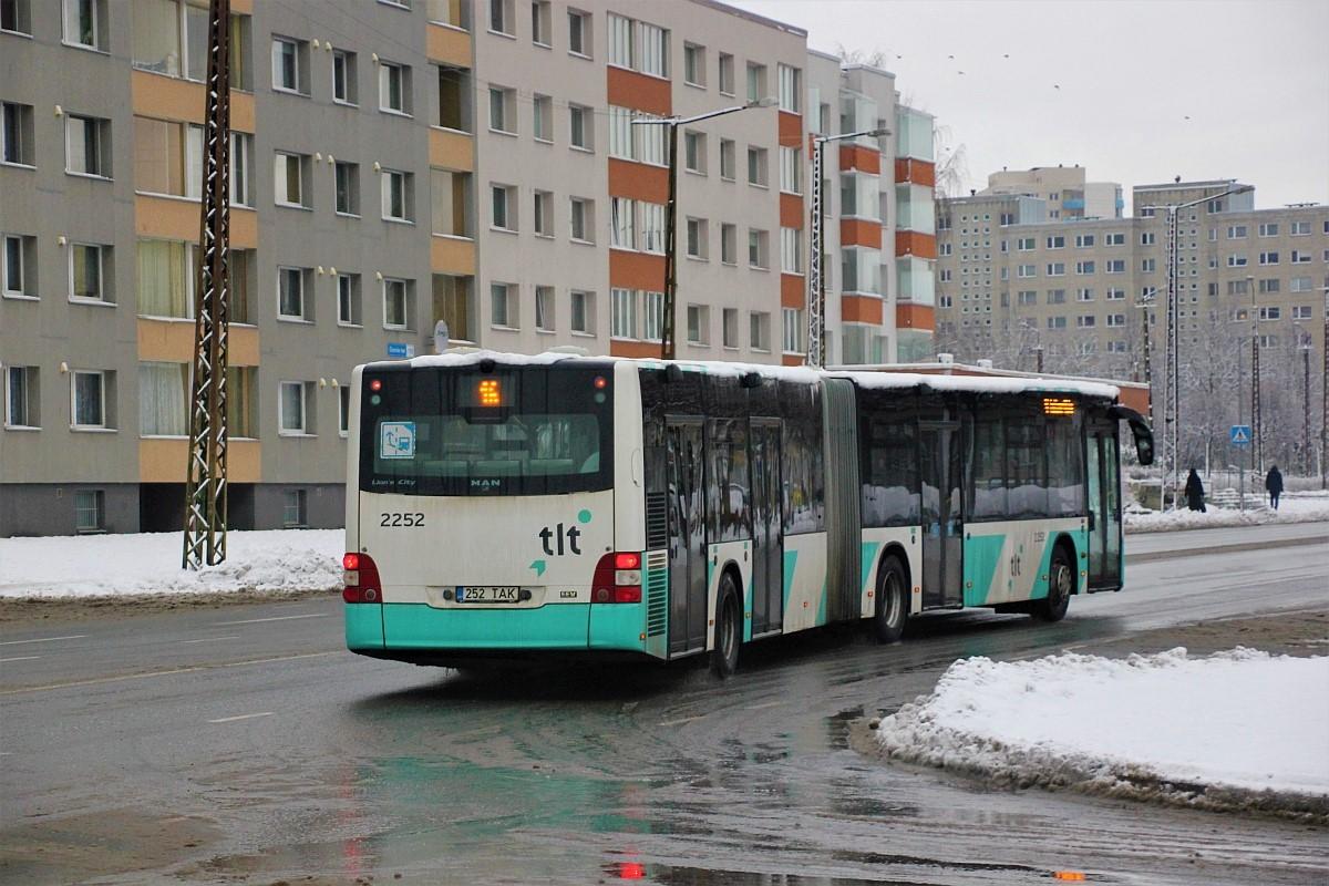 Tallinn, MAN A40 Lion's City GL NG323 № 2252
