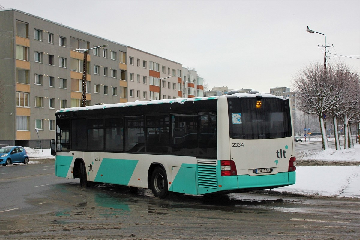Tallinn, MAN A78 Lion's City LE EL293 № 2334