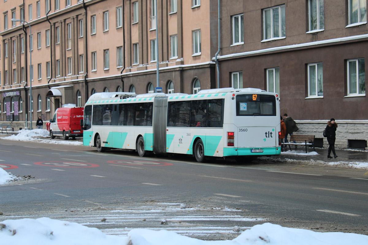 Tallinn, Volvo 7500 № 3560