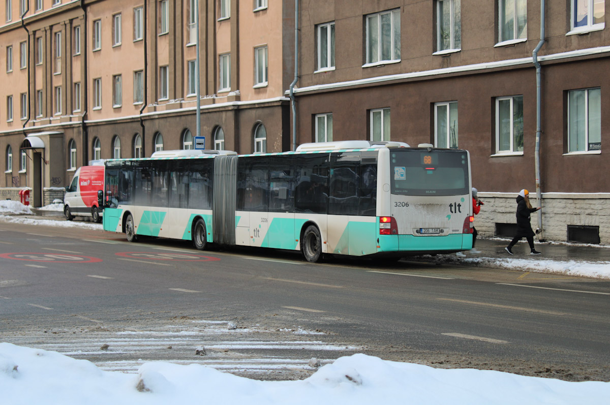 Tallinn, MAN A40 Lion's City GL NG323 № 3206