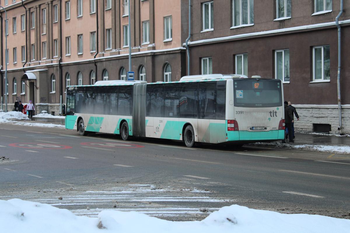 Tallinn, MAN A40 Lion's City GL NG323 № 3391