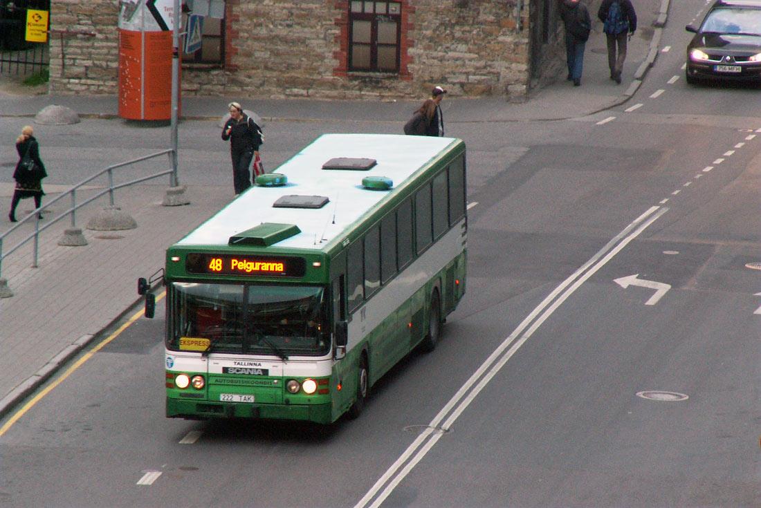 Tallinn, Scania CN113CLB № 2222