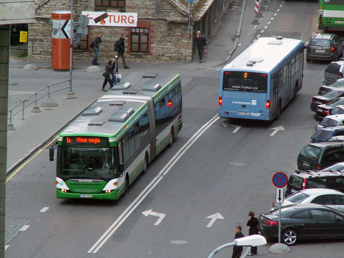 Tallinn, Scania OmniLink CK310UA 6X2LB № 2338