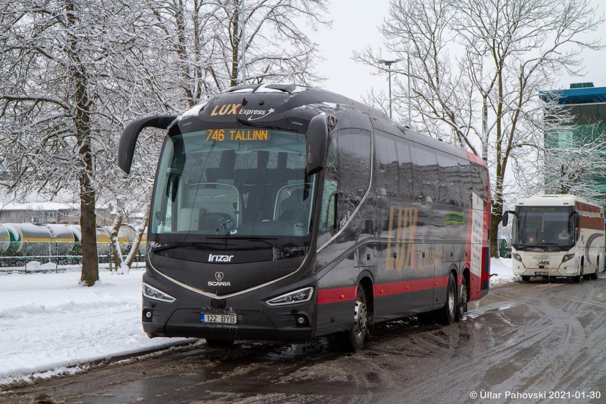 Tallinn, Irízar i8 15-3,7 № 122 BYB