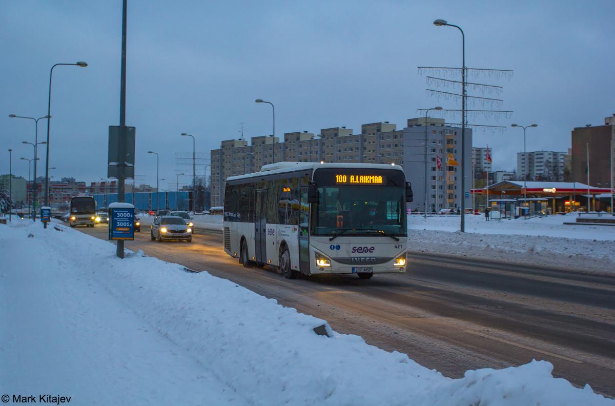 Tallinn, IVECO Crossway LE Line 10.8M № 421