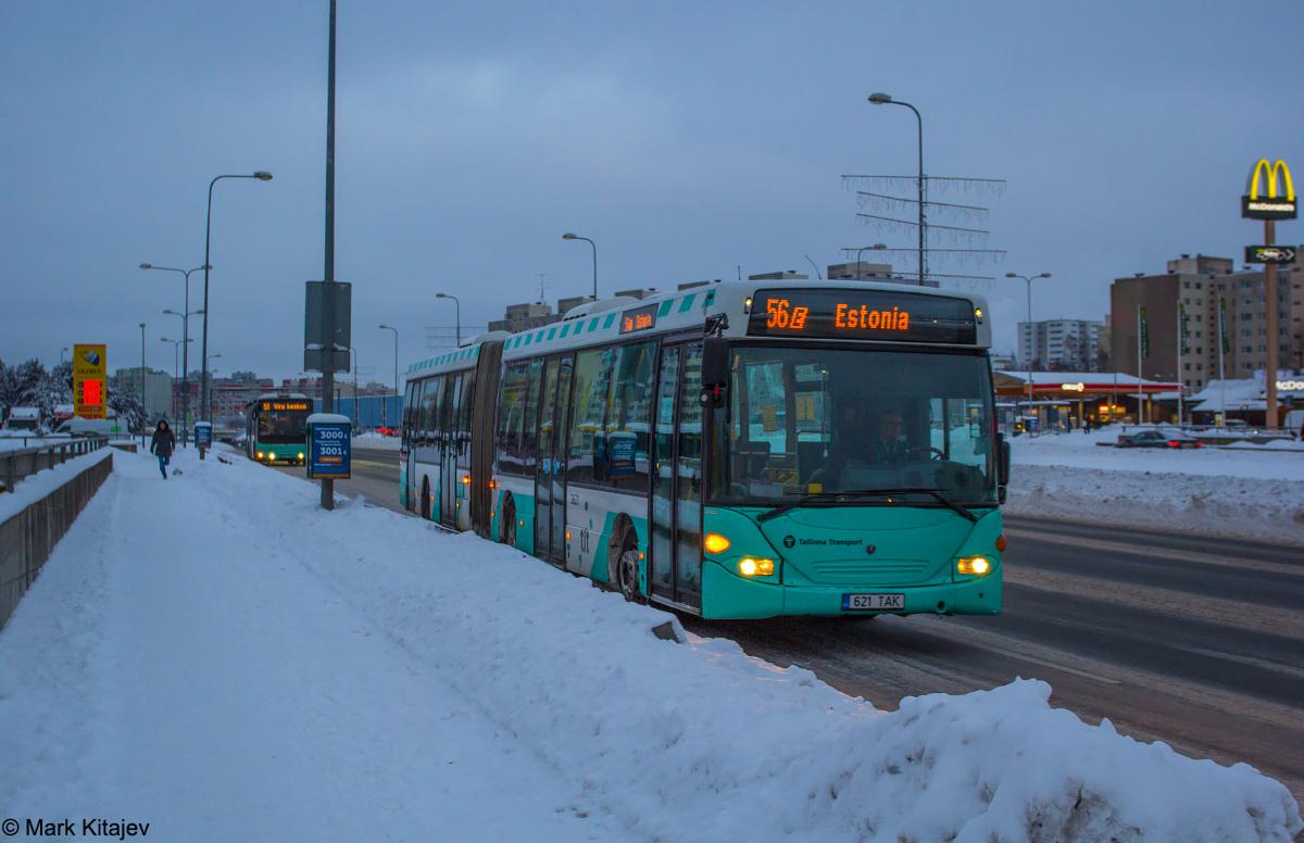 Tallinn, Scania OmniLink CL94UA 6X2LB № 3621