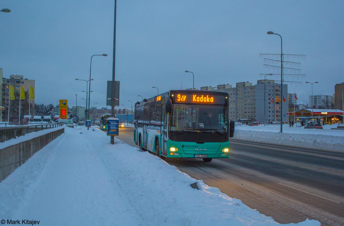 Tallinn, MAN A78 Lion's City LE EL293 № 1107