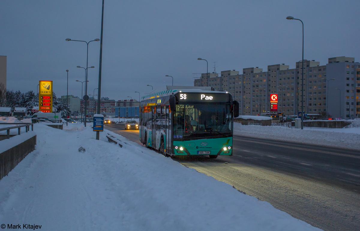 Tallinn, Solaris Urbino IV 12 CNG № 3505