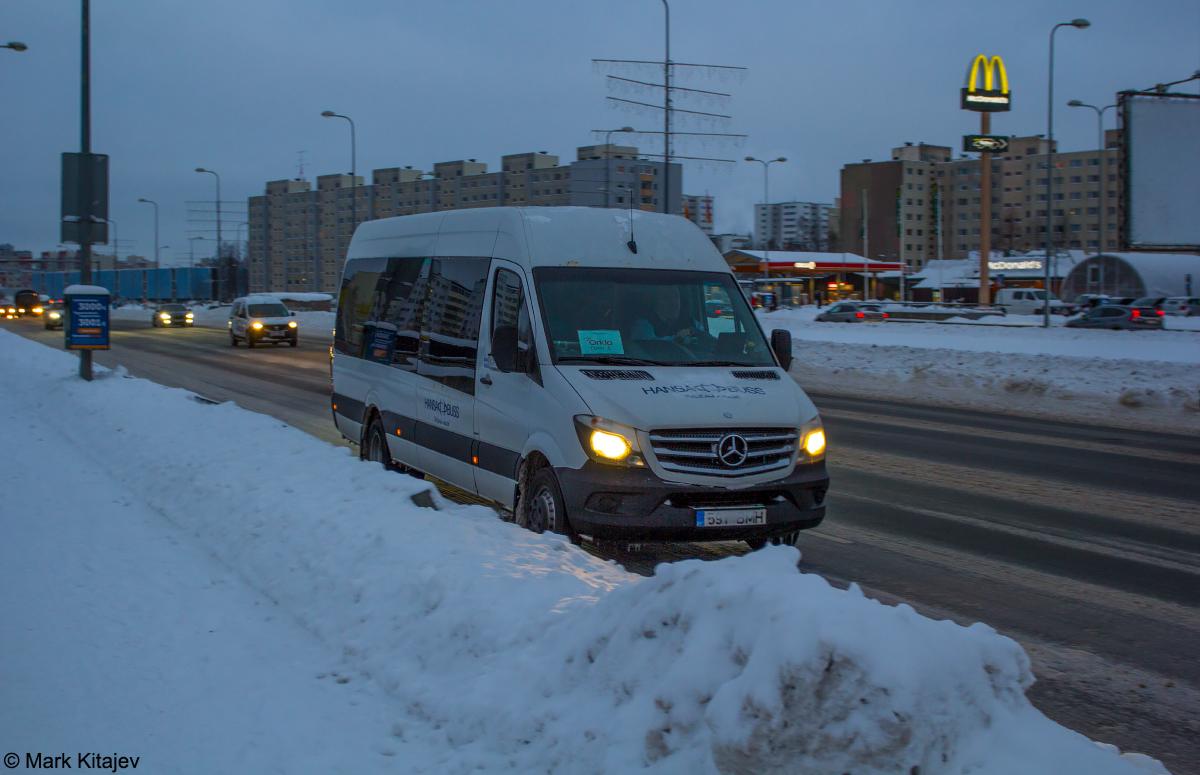 Tallinn, Mercedes-Benz Sprinter 516CDI № 591 BMH