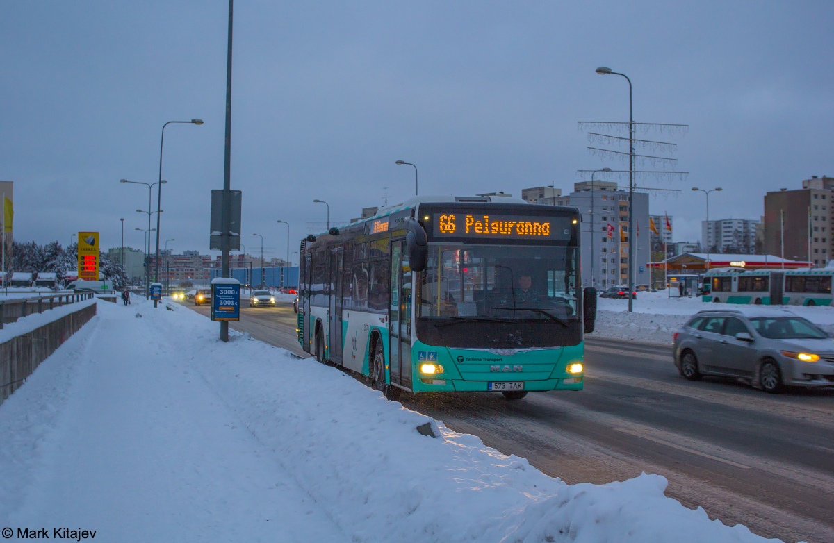 Tallinn, MAN A78 Lion's City LE EL293 № 3573