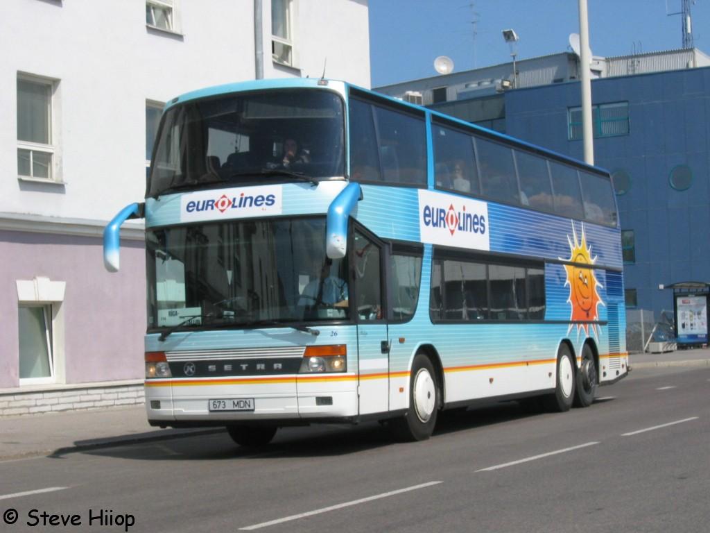 Tallinn, Setra S328DT № 26