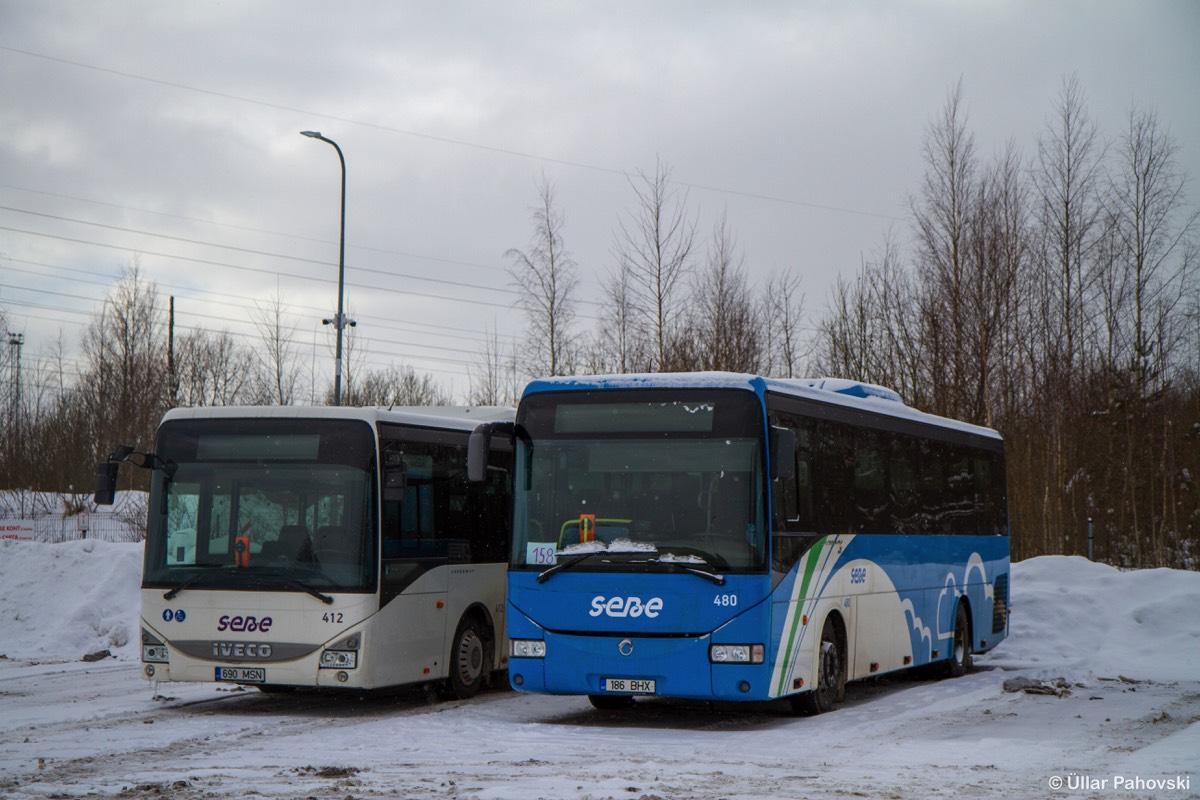 Tallinn, Irisbus Crossway 12M № 480