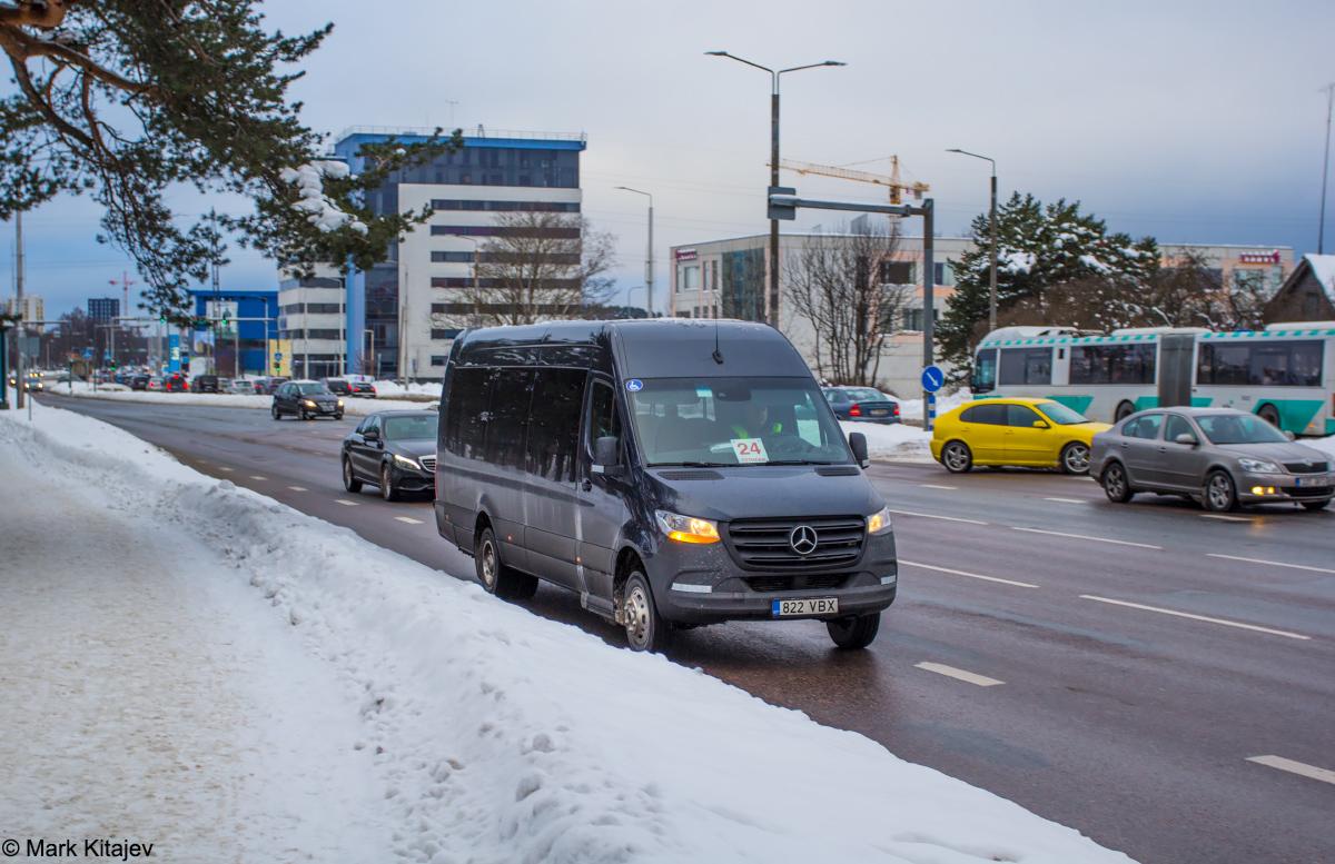 Tallinn, Mercedes-Benz Sprinter 519CDI № 7822