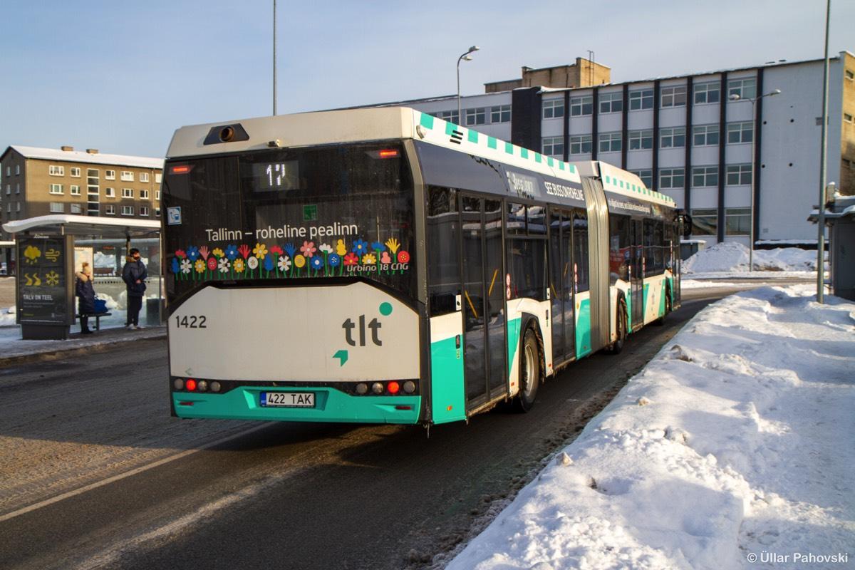 Tallinn, Solaris Urbino IV 18 CNG № 1422