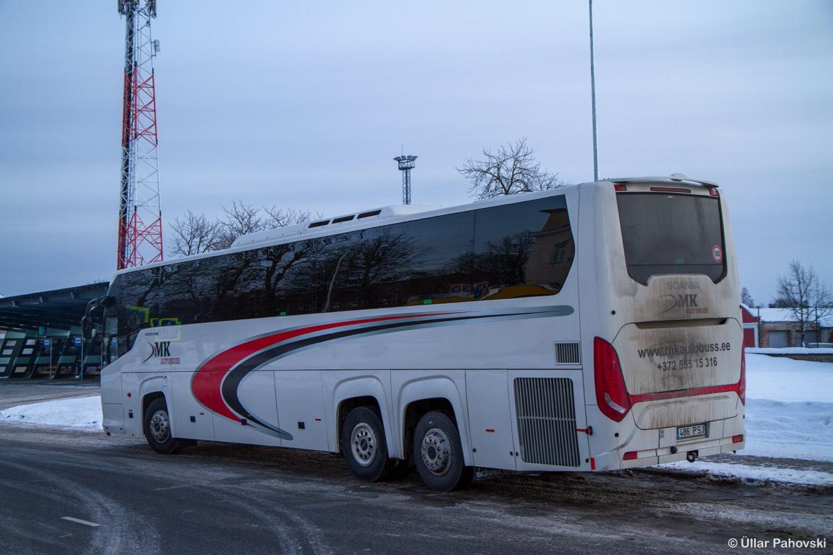Tallinn, Scania Touring HD (Higer A80T) № 486 PSJ