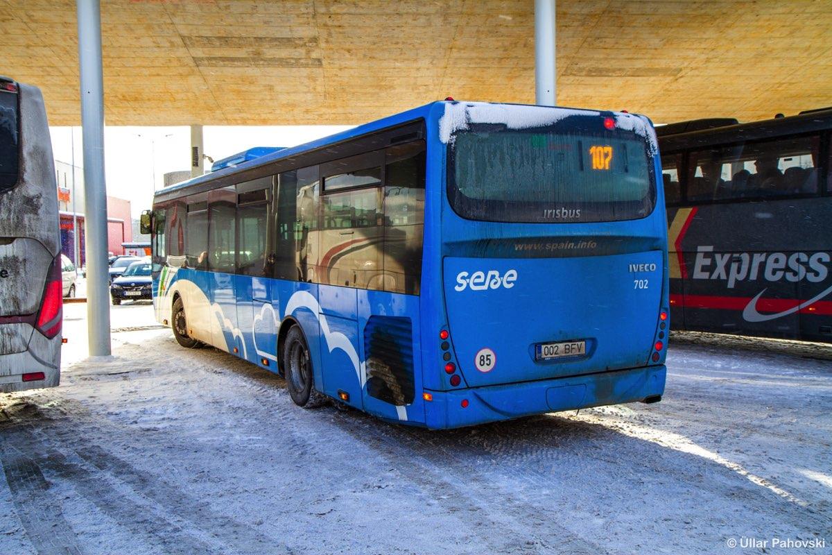 Jõhvi, Irisbus Crossway LE 12M № 702