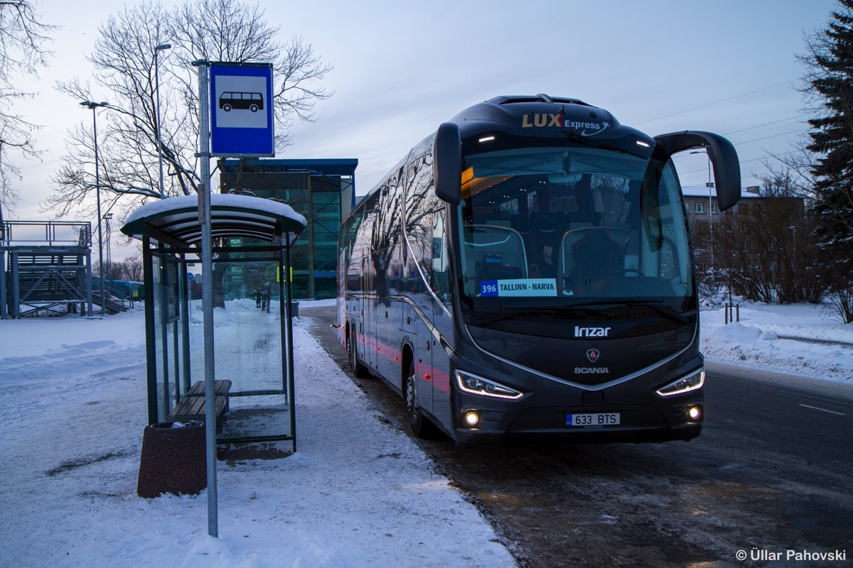 Tallinn, Irízar i8 15-3,7 № 633 BTS