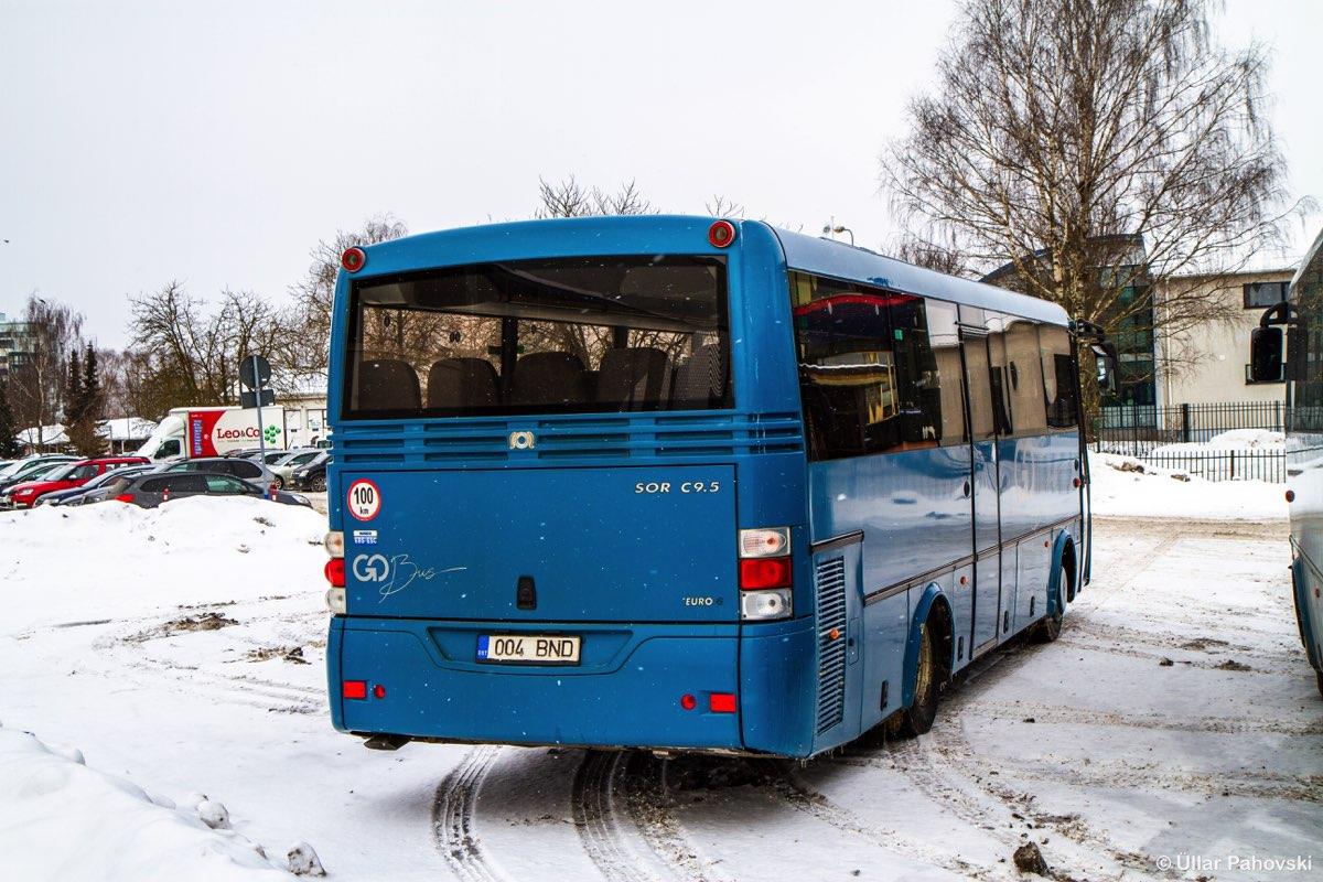Tartu, SOR C 9.5 № 004 BND