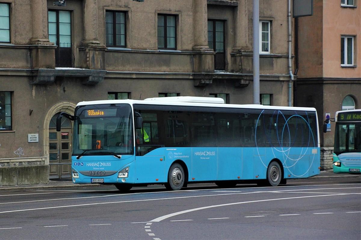 Tallinn, IVECO Crossway LE Line 12M № 891 KKG