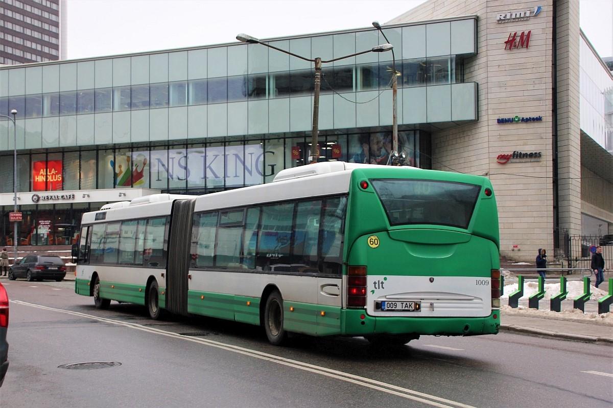 Tallinn, Scania OmniCity CN94UA 6X2 № 1009