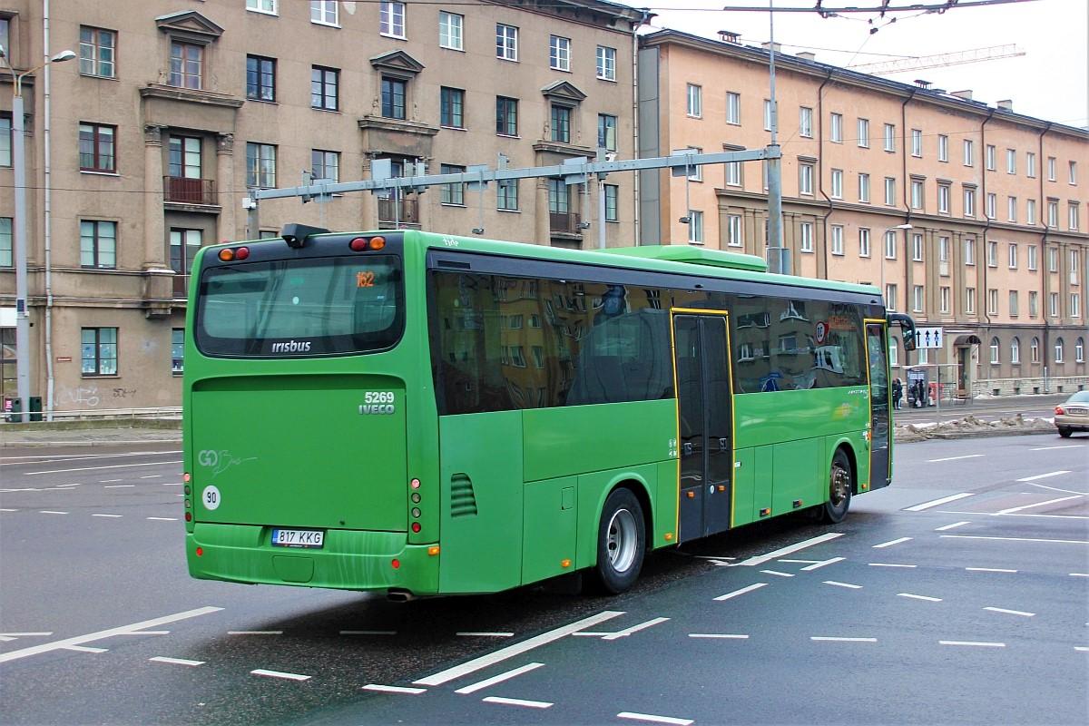 Tallinn, Irisbus Crossway 12M № 817 KKG