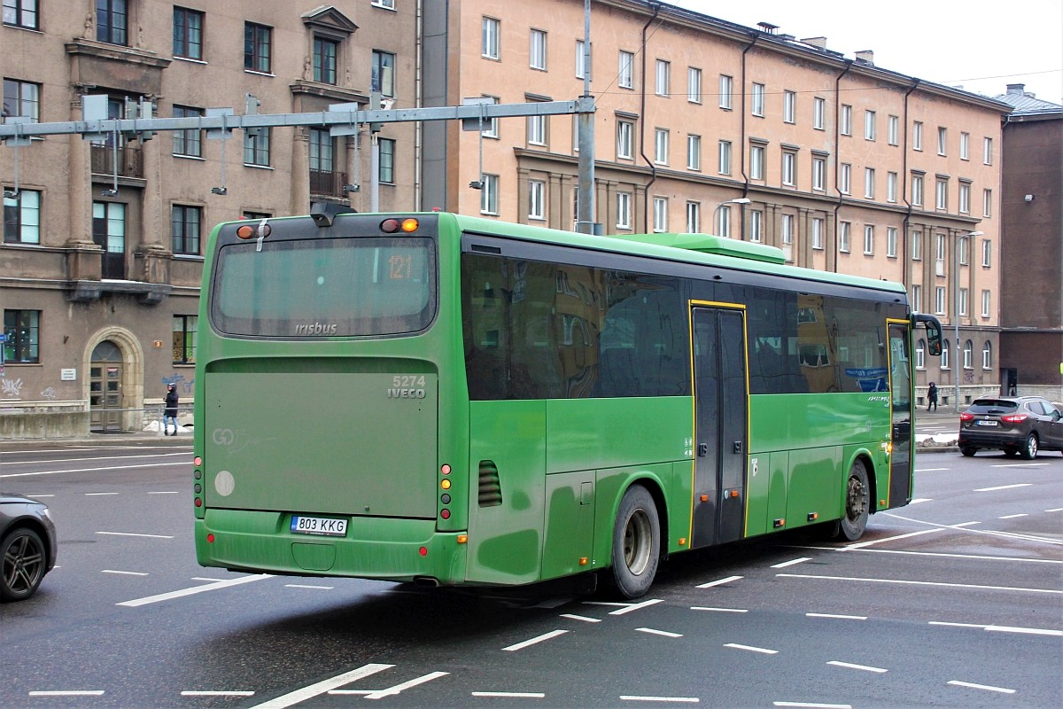 Tallinn, Irisbus Crossway 12M № 803 KKG