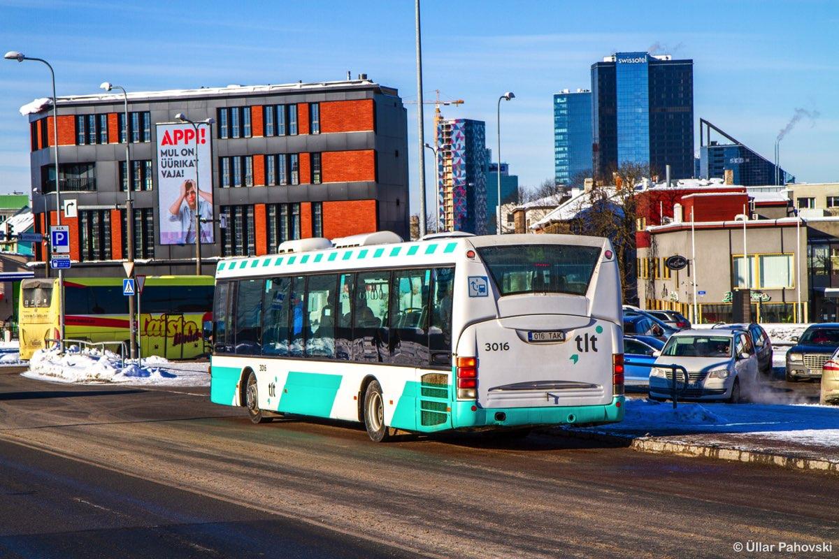 Tallinn, Scania OmniLink CL94UB № 3016