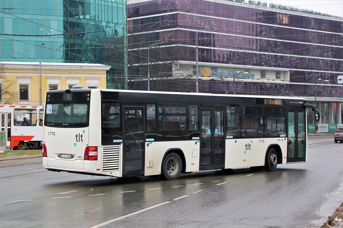 Tallinn, MAN A78 Lion's City LE EL293 № 1770