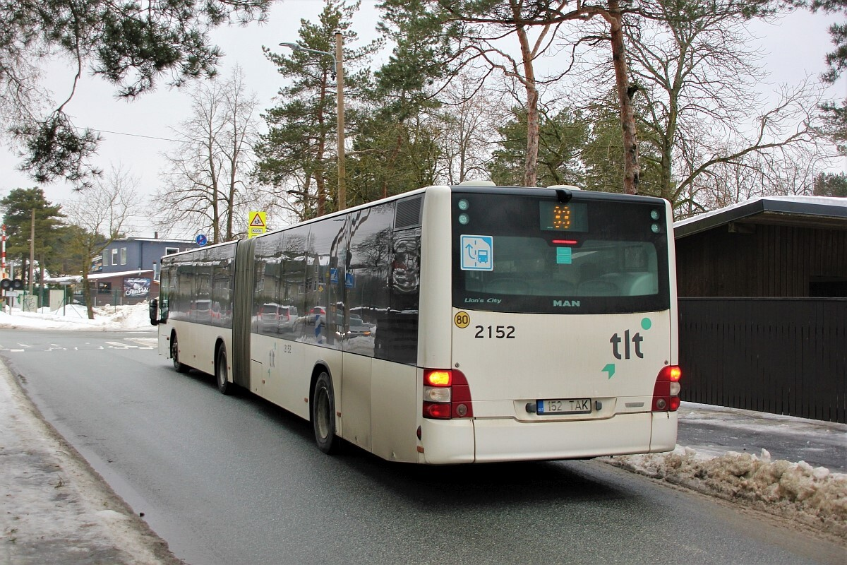 Tallinn, MAN A23 Lion's City L NG323 № 2152