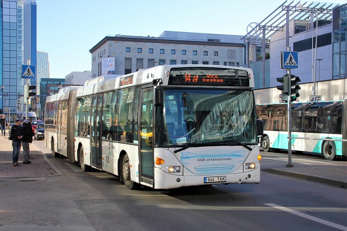 Tallinn, Scania OmniLink CL94UA 6X2LB № 1644