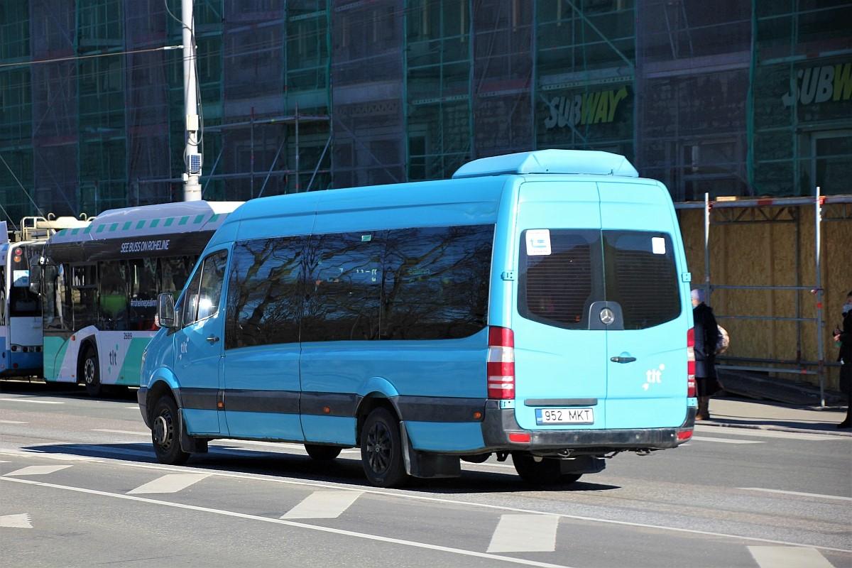 Tallinn, Mercedes-Benz Sprinter 518CDI № 7952