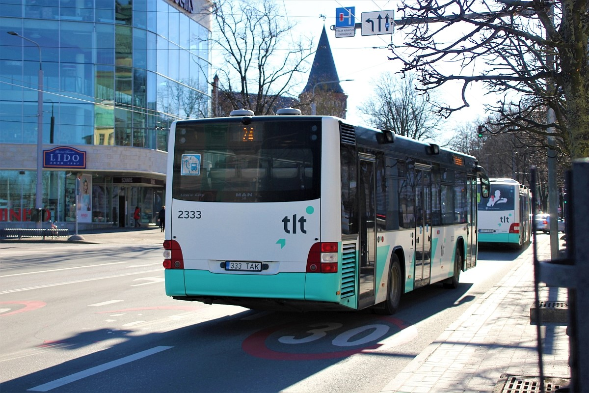 Tallinn, MAN A78 Lion's City LE EL293 № 2333