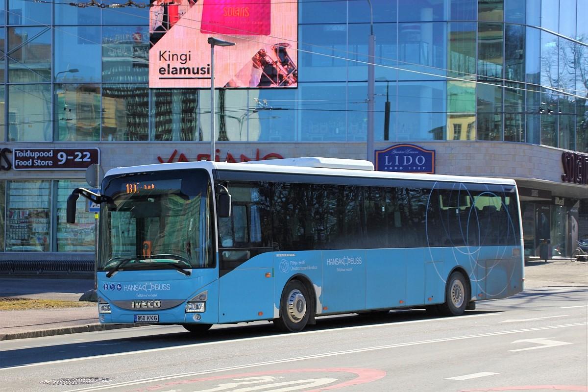 Tallinn, IVECO Crossway LE Line 12M № 860 KKG