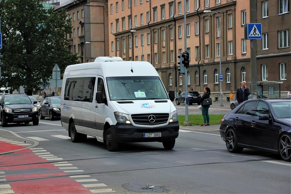 Tallinn, Mercedes-Benz Sprinter 516CDI № 827 BRG