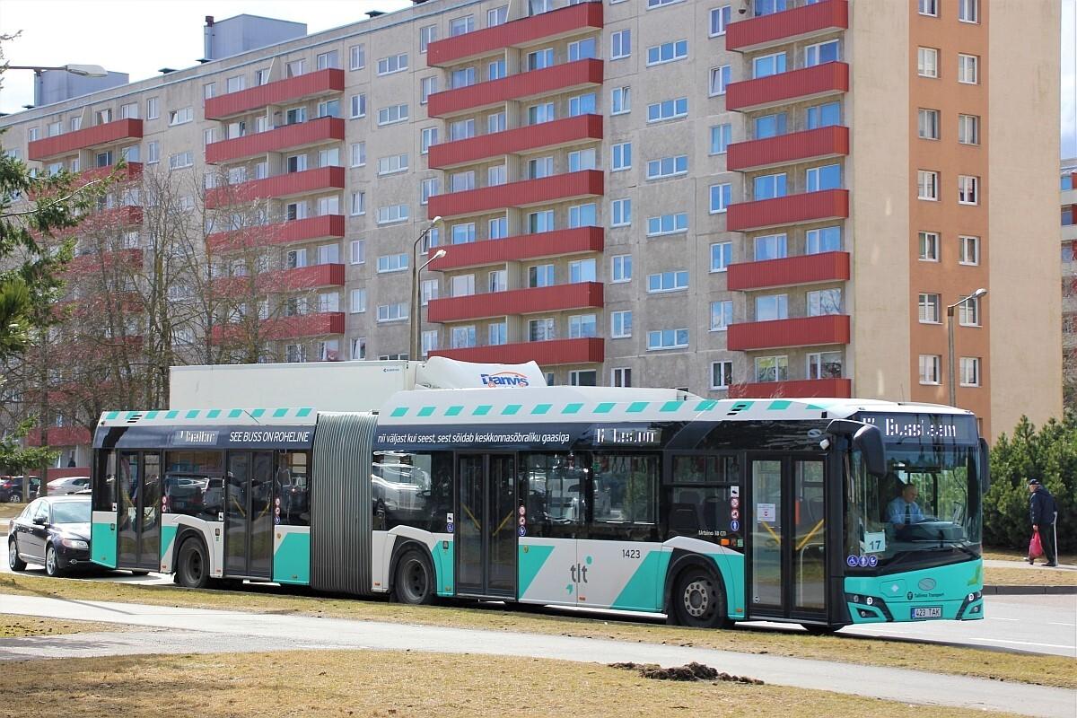 Tallinn, Solaris Urbino IV 18 CNG № 1423