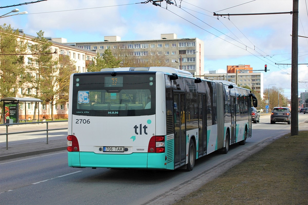 Tallinn, MAN A40 Lion's City GL NG323 № 2706