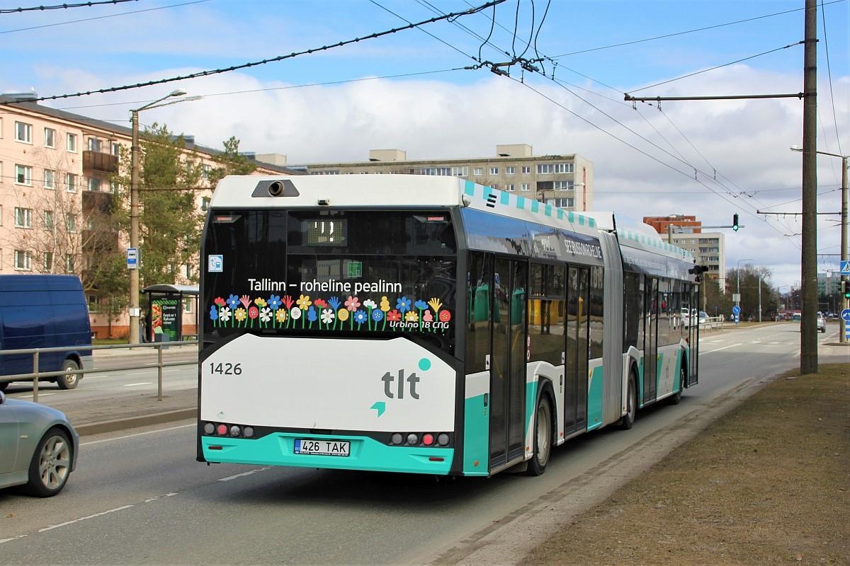 Tallinn, Solaris Urbino IV 18 CNG № 1426