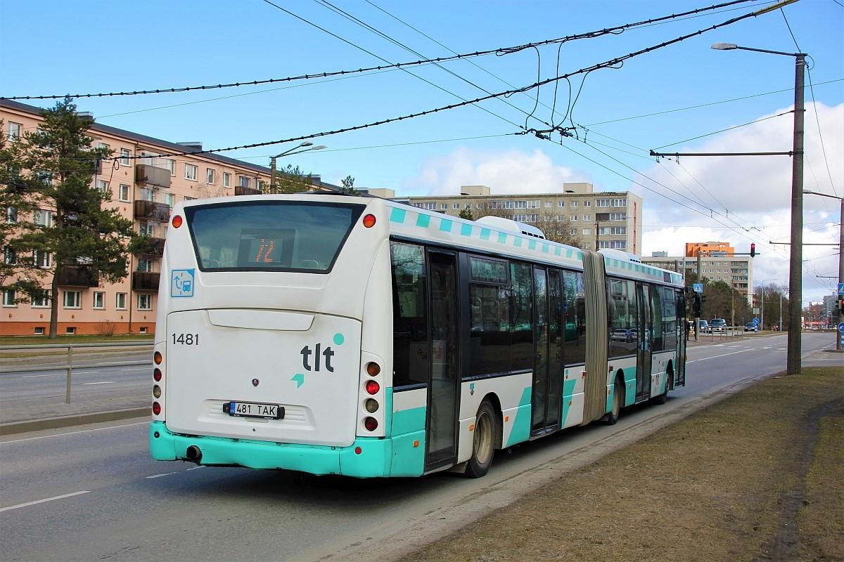 Tallinn, Scania OmniLink CK310UA 6X2LB № 1481